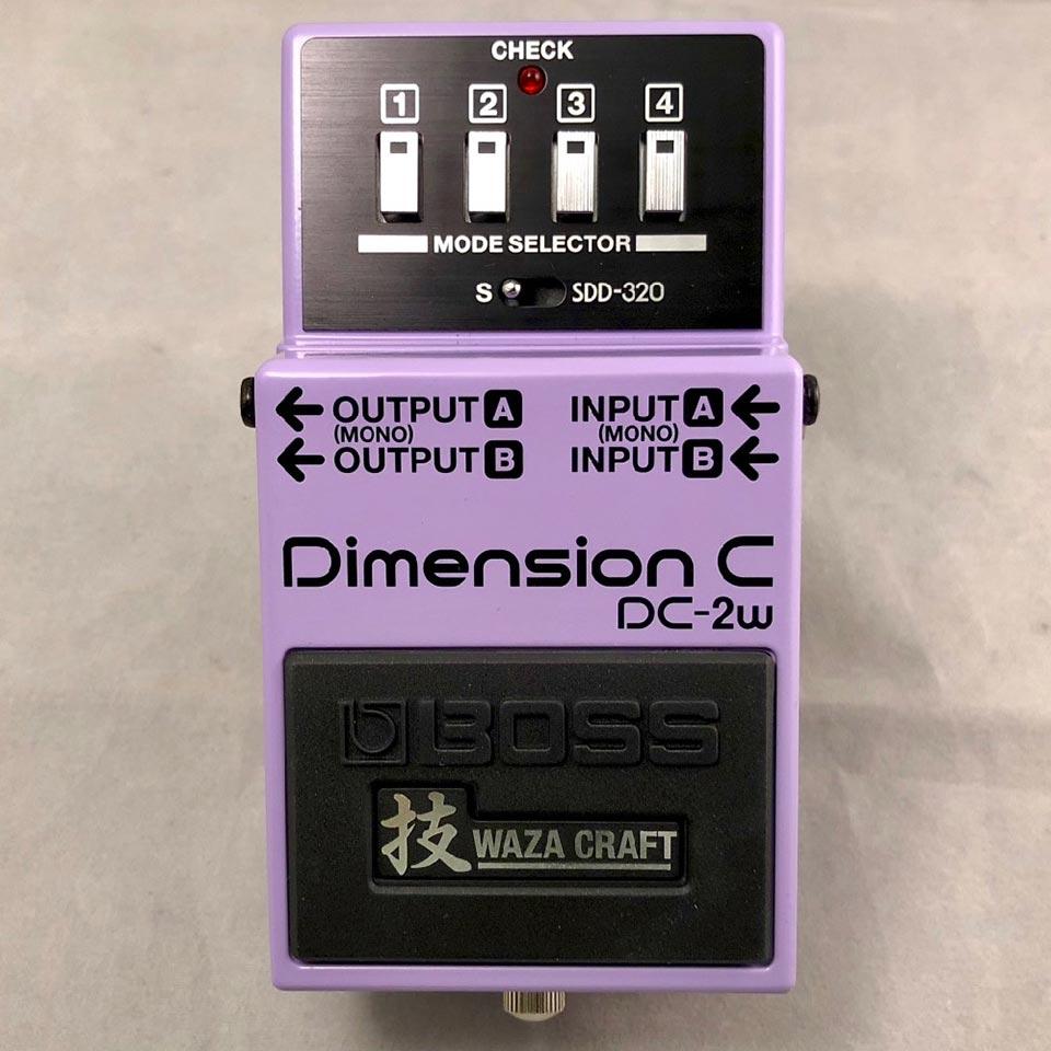 BOSS/DC-2W Dimension C