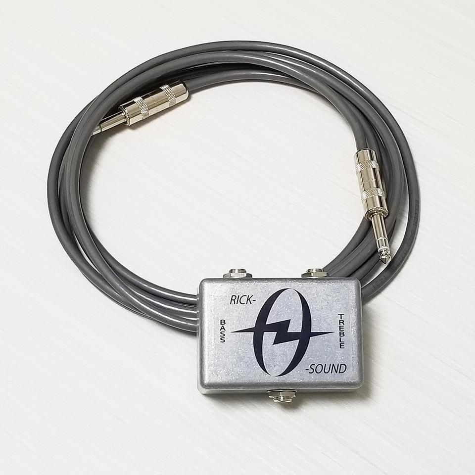 弊社オリジナルのRick-0-Soundと専用のBelden 完売 Vintage Sound Cableをお求めやすくセットにしました Miyaji Custom 激安挑戦中 with Belden Stereo Rick-0-Sound Cable Shop