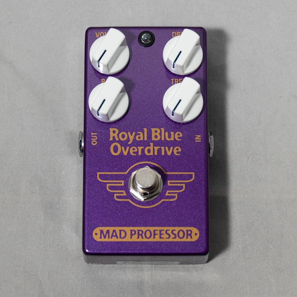 MAD PROFESSOR/Royal Blue Overdrive【数量限定!フットスイッチハットプレゼント!】
