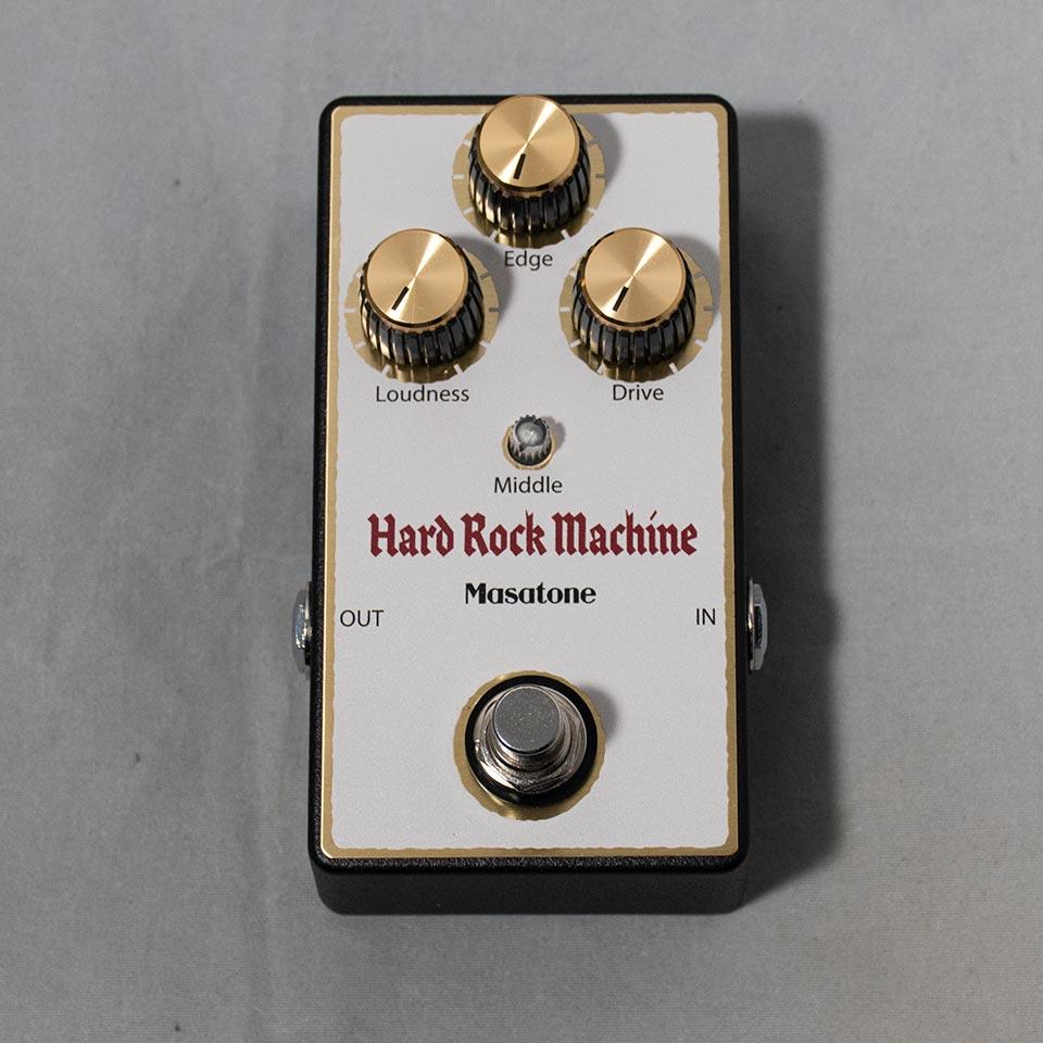 Masatone/Hard Rock Machine White【国産ハンドメイドエフェクターセール!】【在庫あり】