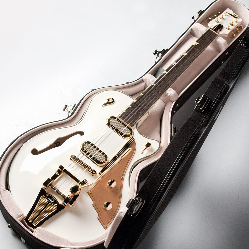 Duesenberg/Starplayer TV Phonic Venetian White w/Gold Hardware