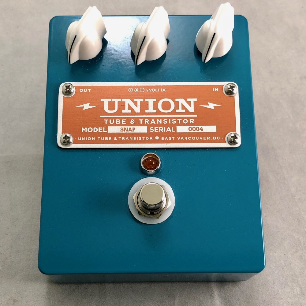 UNION TUBE&TRANSISTOR/SNAP【在庫あり】