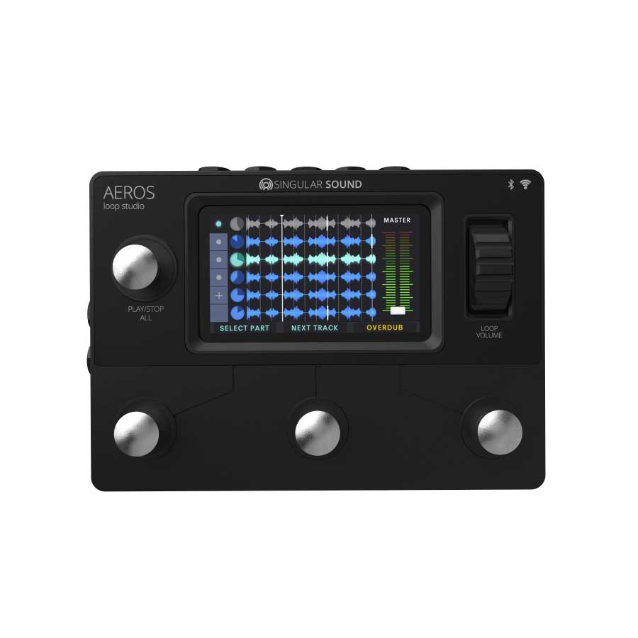 Singular Sound/AEROS loop studio