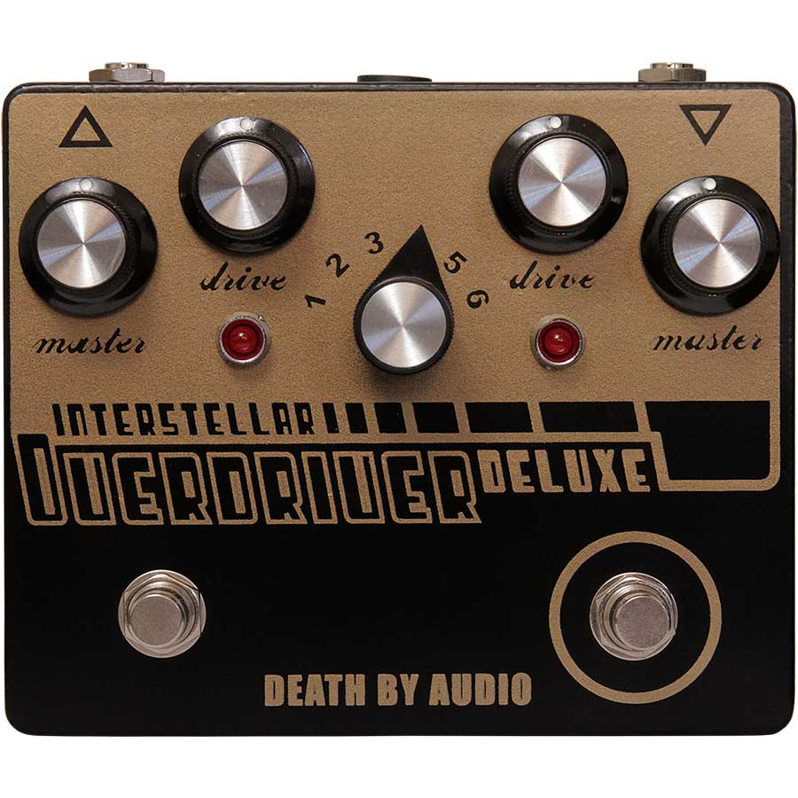 Death by Audio/INTERSTELLAR OVERDRIVER DELUXE