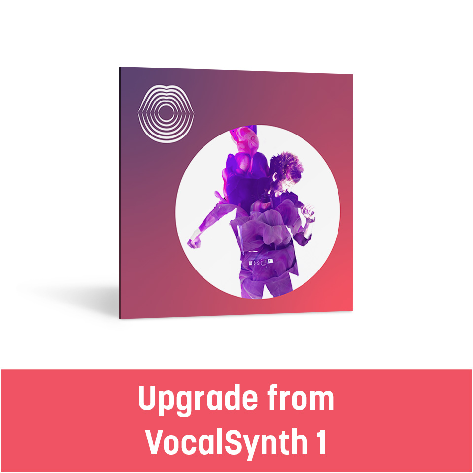 iZotope/VocalSynth 2 Upgrade from VocalSynth 1【オンライン納品】