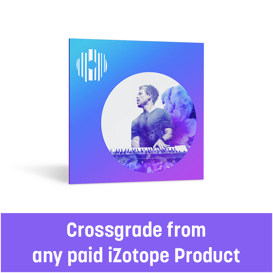 iZotope/Stutter Edit 2 Crossgrade from any paid iZotope Product【オンライン納品】