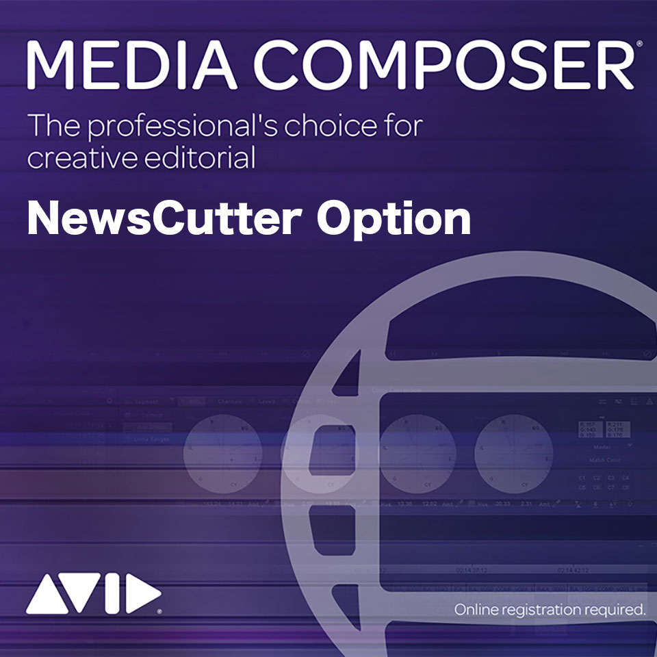 Avid/Media Composer Perpetual | NewsCutter Option Floating License: 5 Pack【永続ライセンス】【フローティング】【パッケージ版】