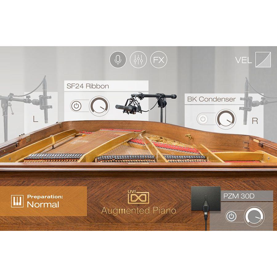 UVI/Augmented Piano【オンライン納品】
