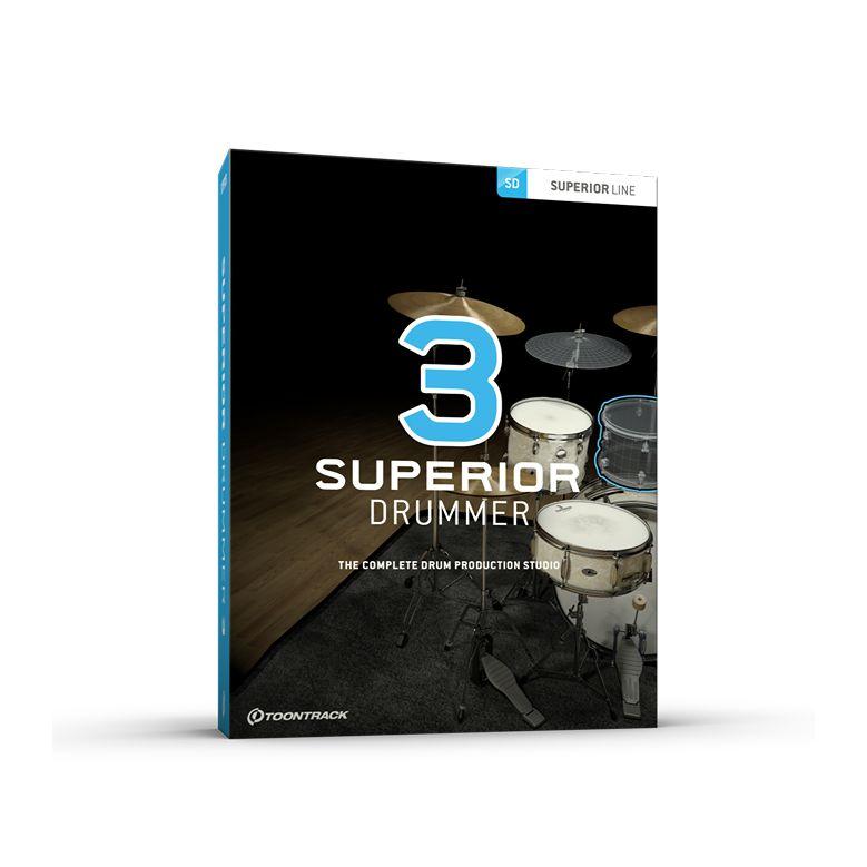 TOONTRACK/SUPERIOR DRUMMER 3【入荷待ち】