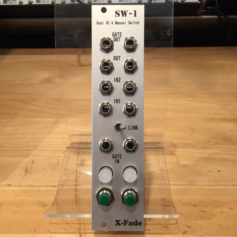X-Fade Modular/SW-1【Green】【World Trade Gear】【在庫あり】