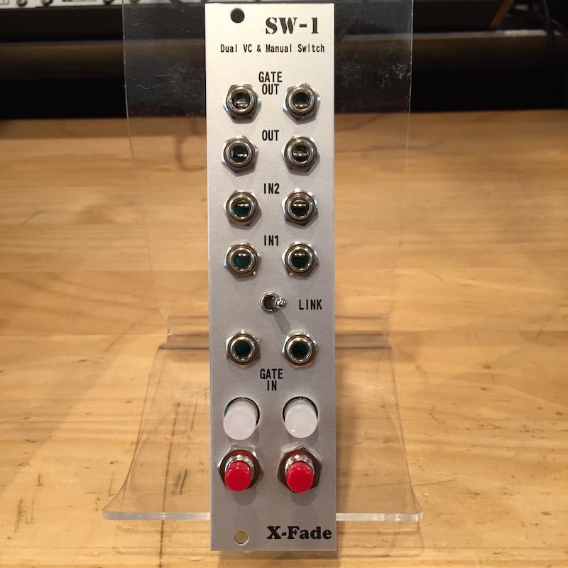 X-Fade Modular/SW-1【Red】【World Trade Gear】【在庫あり】