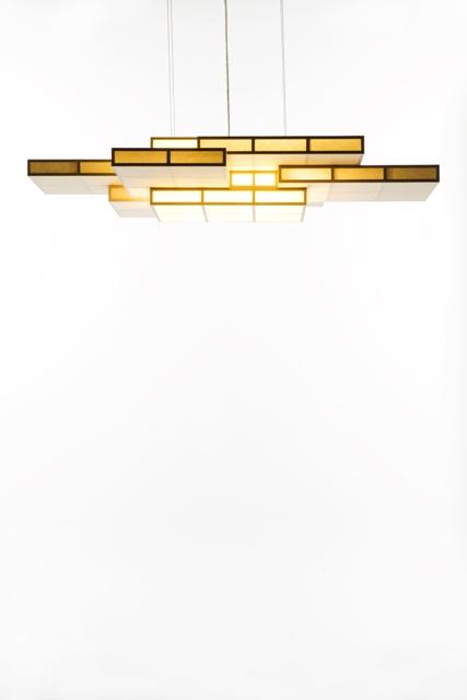 カサネアンドン ペンダントライト (Lサイズ)  照明 デザイナーランプ インテリア 天井照明 和紙 和室 シャンデリア リビング ダイニング シャンデリア 洋室 都行燈