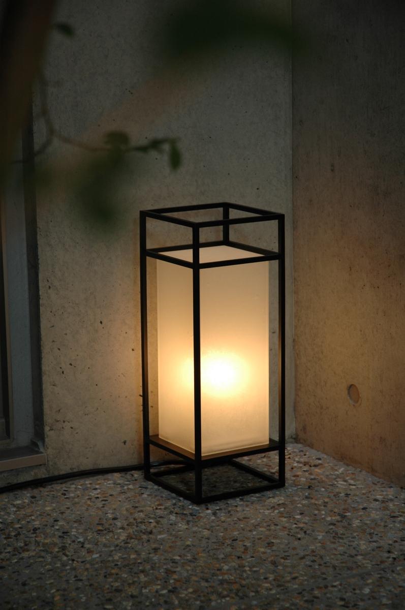 花园光现代日本花园光巷暗灯户外灯 LED 灯泡站日本照明灯罩室内照明是暗灯暗灯市 Andon 原始照明