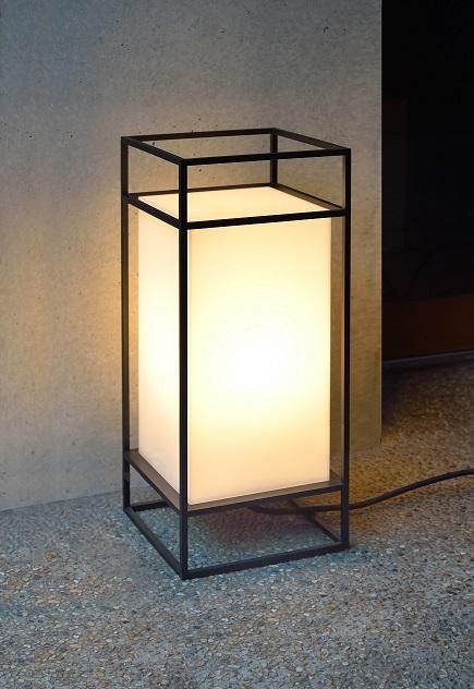 【送料無料】シンプルでスタイリッシュなLEDガーデンライト 路地行灯 庭園灯 看板灯 屋外照明 H600