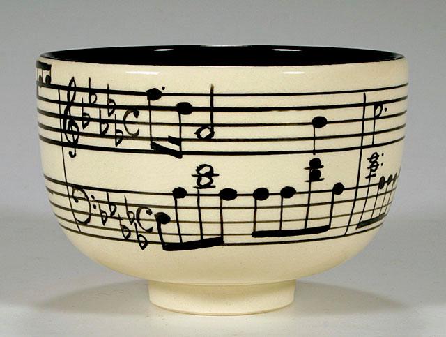 ショパン「雨だれのプレリュード」茶碗