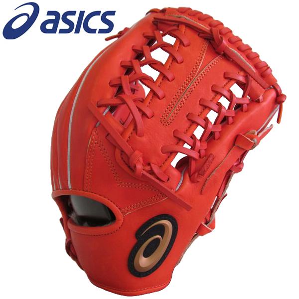 硬式グローブ アシックス ネオリバイブ 硬式グラブ 内野手・外野手兼用 BGH7MU 22 Rオレンジ 送料無料