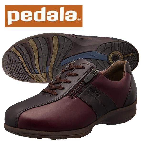 ペダラ ウォーキングシューズ 4E アシックス PEDALA WS093C 4E pedala レディース 1212A093 200 コーヒー×ポートロイヤル 送料無料
