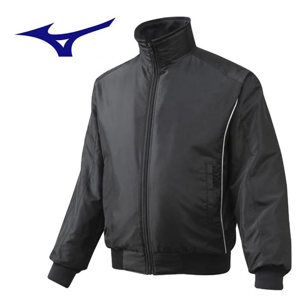ミズノ 野球ウェア グラウンドコート 12JE5G2009 ブラック
