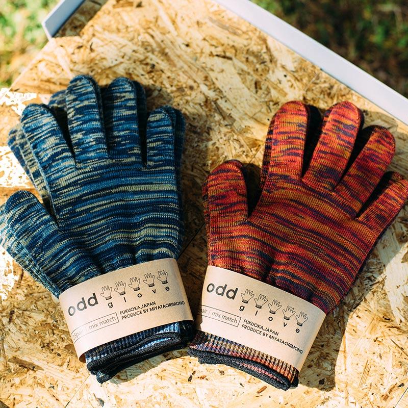 odd glove とは 片方の手袋 という意味 1枚1枚表情の違う手袋を5枚で1セットにしました 送料込 オッドグローブ 片手5枚入り 母の日 通販サイトおよび店舗限定商品 手ぶくろ 父の日 コラボ アウトレット プチギフト 日本製 軍手工房イナバ 再入荷/予約販売! 両手2組と片手1枚分