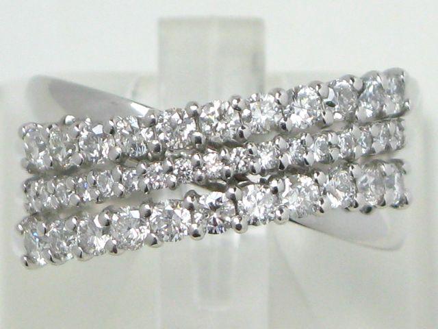 絶対一番安い 【新品同様】Pt900 ダイヤモンドリング/D1.00/#15/9.6g【質屋出店】【送料無料】, 新規購入 aeac9268