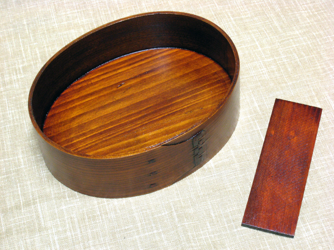 Bending magewappa large Bento box lacquer