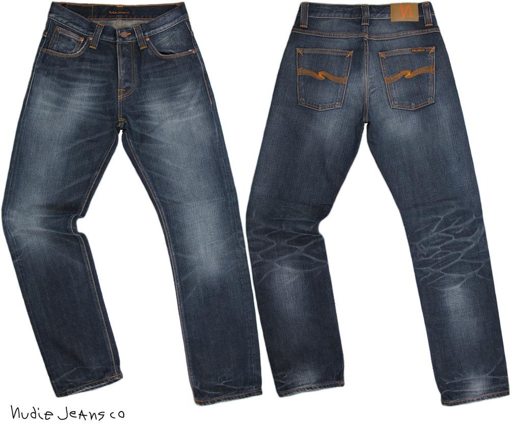 Nudie Jeans co/ヌーディージーンズ STRAIGHT ALF/ストレートアルフ ORG. INDIGO DEPTH(オーガニック、インディゴ・デプス)