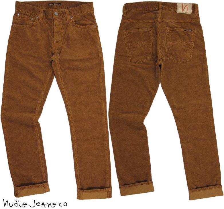 Nudie Jeans co/ヌーディージーンズ GRIM TIM(グリムティム) LION CORD11ウェル、コンフォートストレッチコーデュロイ ジーンズ