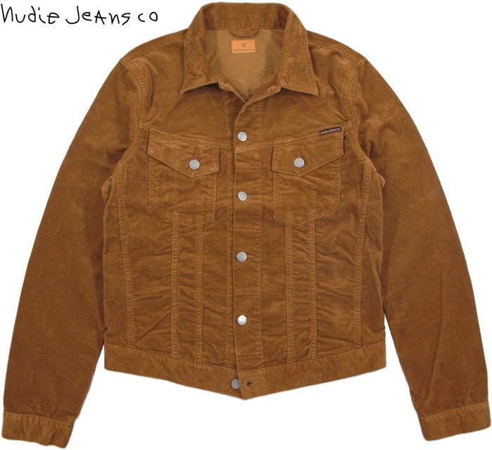 Nudie Jeans co/ヌーディージーンズ BILLY(ビリー) CORD LION 11ウェル、コンフォートストレッチコーデュロイ・ジージャン/Gジャン/デニムジャケット