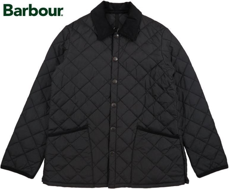 Barbour/バブアー LIDDESDALE SL NYLON リッズデール SL ナイロンキルティングジャケット BLACK(ブラック)/SMQ0001-BK91