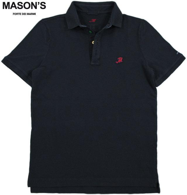 MASON'S/メイソンズ PIB15 POLO SHIRT 半袖ポロシャツ NAVY(ネイビー)/2FT2523
