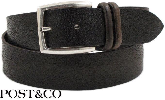 POST&CO/ポストアンドコー Leather Belt/レザーベルト Art:7028 TAUPE(トープ)灰色がかった茶色