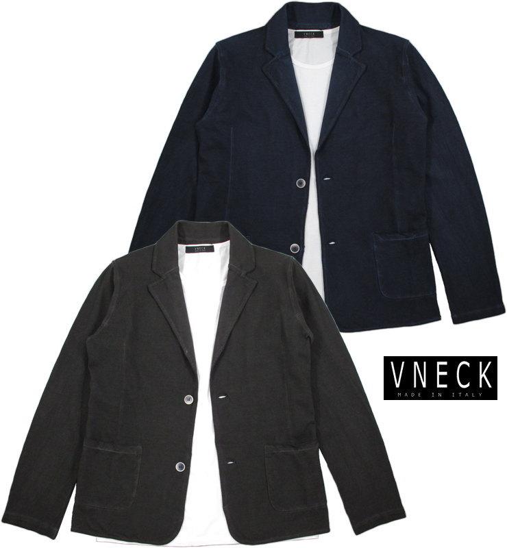 """VNECK/ヴイネック #9047""""ROCK""""PIQUE BLAZER テーラード 鹿の子カットソージャケット,ブレザー"""