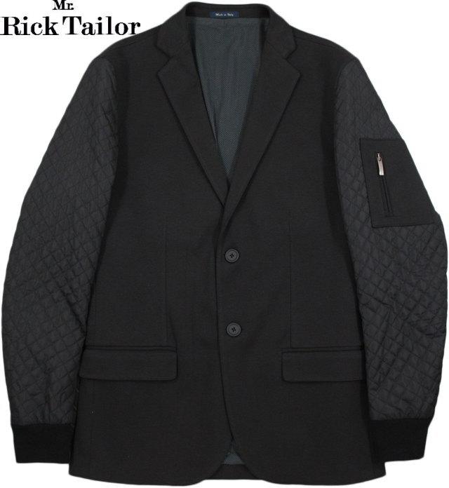 Mr.RickTailor/ミスター・リック・テイラー ART.547 コットンジャケット/テーラードジャケット/ブレザー BLACK(ブラック)