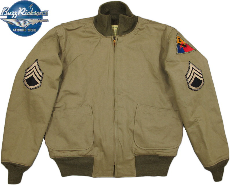 BUZZ RICKSON'S/バズリクソンズ Jacket, Combat, Winter Type TANK PATCH POCKET 2nd Armor Division