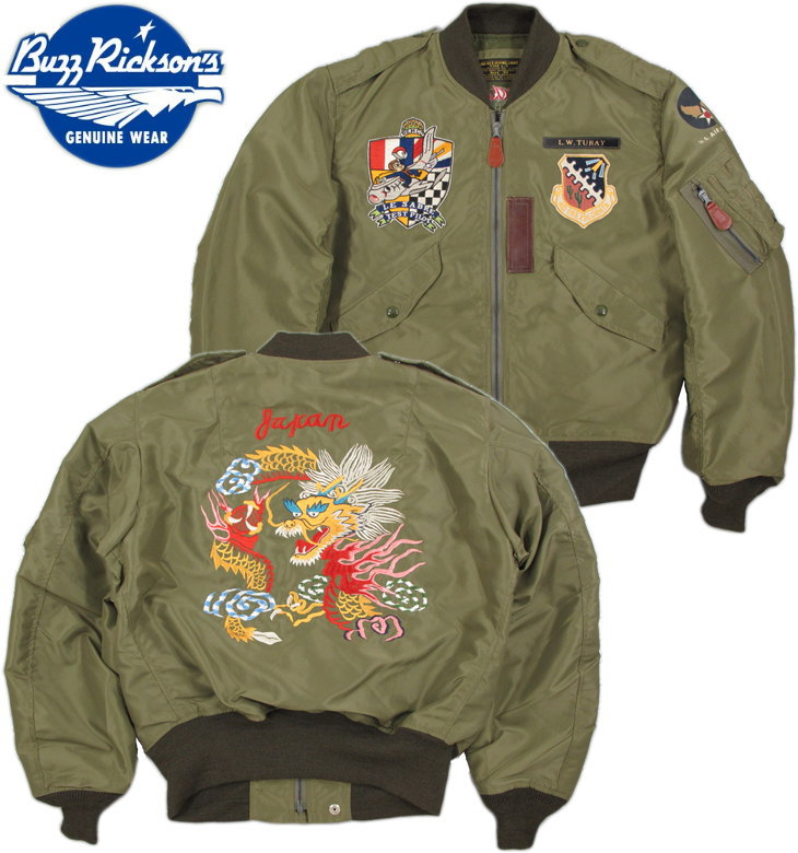 "BUZZ RICKSON'S/バズリクソンズ Jacket,Flying,Light Type L-2MEMORY OF JAPAN""AMERICAN PAD & TEXTILE CO.""F-86 SABERE TEST PILOTLot/BR13661タイプL-2、メモリーオブジャパン・スカフライトジャケット"