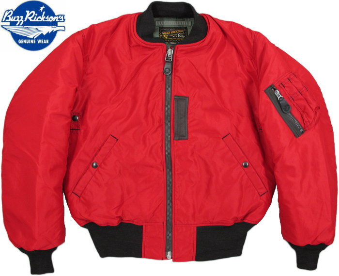 BUZZ RICKSON'S/バズリクソンズ Jacket, Flying, Intermediate Type RED MA-1