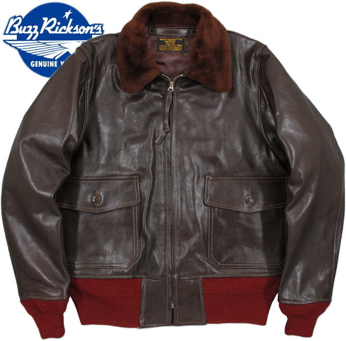 "BUZZ RICKSON'S/バズリクソンズ Jacket, Flying, Intermediate AN 6552""B.RICKSON SPORTSWEAR CO."" CONTRACT No.N288s-28627 1944 MODELLot,BR80445"