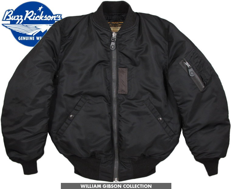 BUZZ RICKSON'S/バズリクソンズ JACKET, FLYING, INTERMEDIATE Type BLACK MA-1 1st DOWN FILLED William Gibson Collection ウィリアム・ギブソン コレクション、ブラックMA-1ファースト ダウンジャケット/ダウンMA-1Lot;BR14168