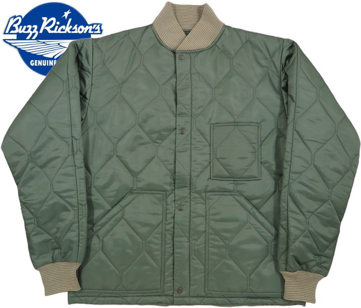 "BUZZ RICKSON'S/バズリクソンズ Underwear, Quilted, Jacket CWU-9/P LINER""BUZZ RICKSON MFG. CO. INC./Lot;BR14400"