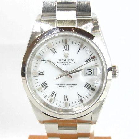 【質屋出店】【当店保証3年付】ロレックス デイト 15200 メンズ 時計【中古】