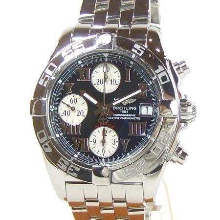 【質屋出店】【当店保証1年付】ブライトリング クロノコックピット A13358 メンズ 時計【中古】