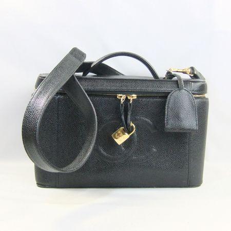 46b09f31db0360 Shichi-Boutique Gallery MYO-SHIN: Chanel caviar skin vanity bag 2 ...