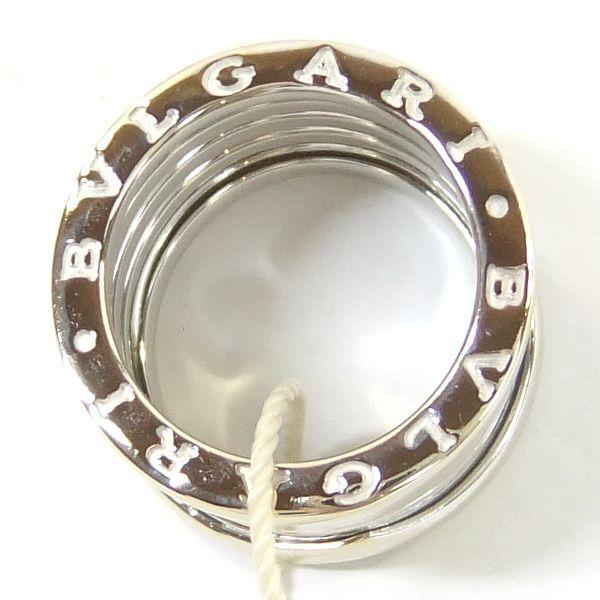 質屋出店 ブルガリ B-zero1 LK18WG ホワイトゴールドリング 52 12号K1Jc3FuTl