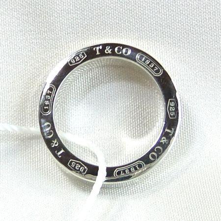 【質屋出店】ティファニー 1837 SV925(シルバー) リング 6.5号【中古】
