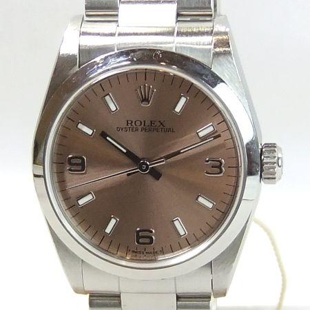 【質屋出店】【当店保証3年付】ロレックス オイスターパーペチュアル77080 ボーイズ 時計【中古】