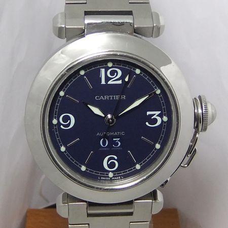 【質屋出店】【当店保証1年付】カルティエ パシャC ビッグデイト 時計【中古】