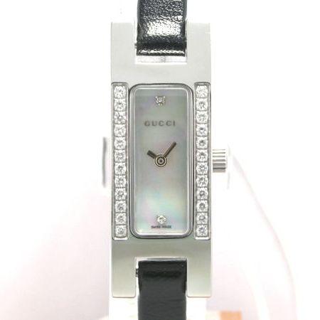 【質屋出店】【当店保証1年付】グッチ 3900L ダイヤベゼル レディース【中古】