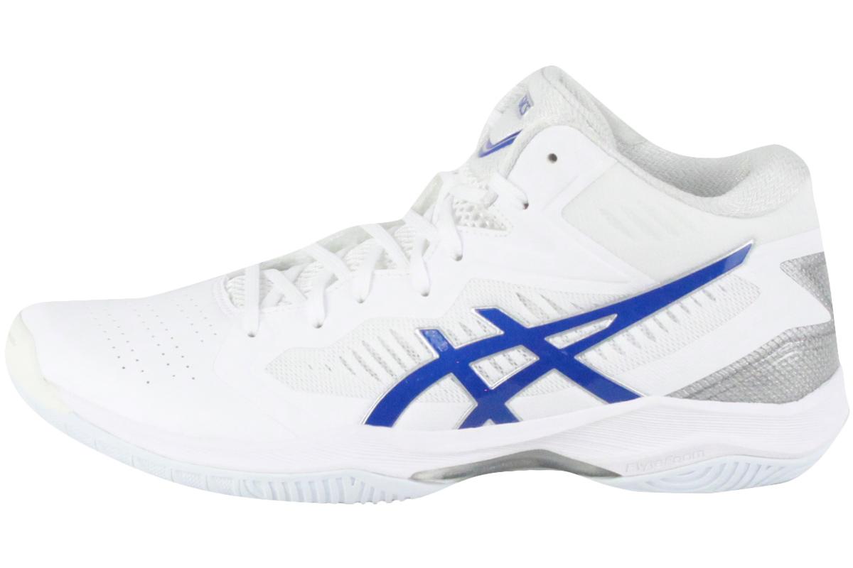 (★)■□【ナロー(スリム)ラスト】アシックス asicsバスケットシューズゲルフープV12 GELHOOP V12(WHITE/ASICS BLUE)【1063A022-100】2020/2/14