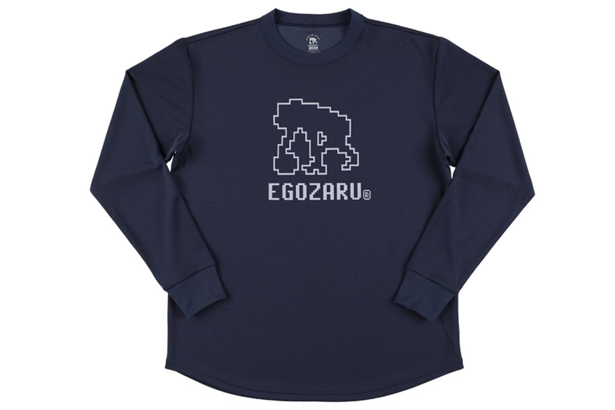 2019秋冬モデル!!【3色展開】エゴザル EGOZARU バスケ tシャツ DIGITAL LOGO ロングTシャツ