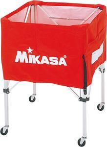ミカサ MIKASAボールカゴ(大)【ネーム加工可】3点セット(フレーム・幕体・キャリーケース)【BC-SP-H】